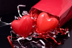 Valentines Gifts Stock Photography
