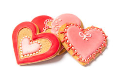 Valentines Gingerbreads - Stock Photo Stock Photography