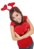 Valentines Girl Royalty Free Stock Photo