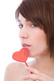 Valentines girl Stock Photography