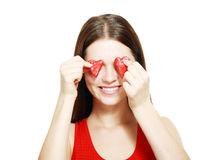 Valentines girl Royalty Free Stock Photography