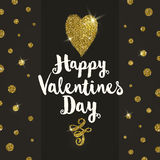 Valentines greeting card Royalty Free Stock Photos