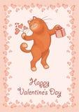 Valentines greeting card Stock Photo