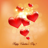 Valentines Greeting Card Royalty Free Stock Photo