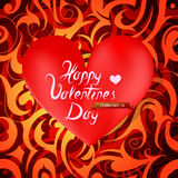 Valentines greetings Royalty Free Stock Photo