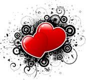 Valentines grunge Stock Image