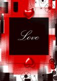 Valentines grunge background Royalty Free Stock Image