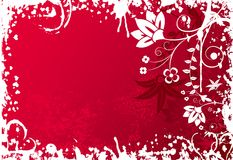 Valentines grunge background, vector Royalty Free Stock Image