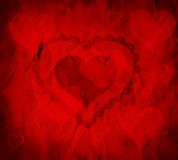 Valentines Heart. Symbolizing giving love to another Royalty Free Stock Photo