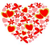 Valentines heart Stock Images