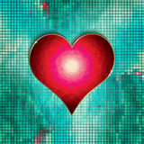 Valentines Heart background Royalty Free Stock Image