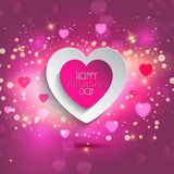 Valentines Heart background Stock Photo