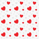 Valentines Heart Gift Seamless Pattern Royalty Free Stock Photography