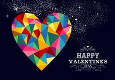 Valentines heart love illustration. Stock Photography