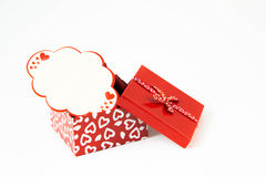 Valentines heart soft candy box Royalty Free Stock Photo