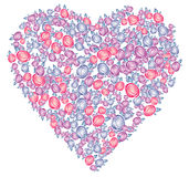 Valentines heart, vector Stock Image