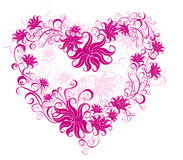 Valentines Heart. Vector illustration  Royalty Free Stock Image