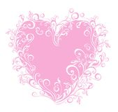 Valentines Heart. Vector illustration  Stock Photos
