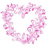 Valentines Heart. Vector illustration  Royalty Free Stock Photography