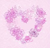 Valentines Heart. Vector illustration Royalty Free Stock Photos