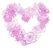 Valentines Heart. Vector illustration stock images