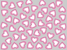 Valentines hearts Royalty Free Stock Images