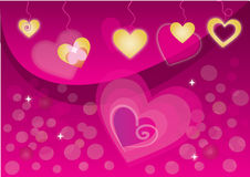 Valentines hearts Royalty Free Stock Image