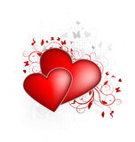 Valentines hearts Royalty Free Stock Photos