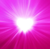 Valentines Hearts Abstract Pink Background Royalty Free Stock Photos