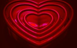 Valentines Hearts Beautiful Infrared Royalty Free Stock Image