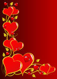 Valentines Hearts Illustration Royalty Free Stock Images