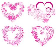 Valentines Hearts. Vector illustration  Royalty Free Stock Photography