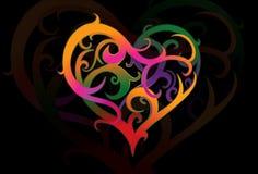 Valentines heartshape Stock Image