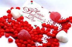 Valentines heureux Photo libre de droits