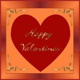 Valentines heureuses photos libres de droits