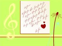 Valentines letter Stock Photo