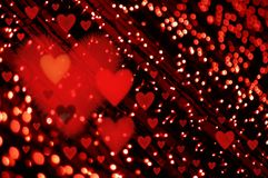 Valentines light Royalty Free Stock Image
