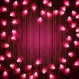 Valentines Lights Royalty Free Stock Photos