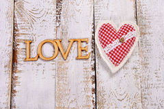 Valentines love background Stock Photography