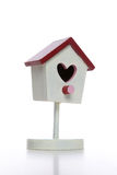 Valentines Love Birdhouse Stock Photography