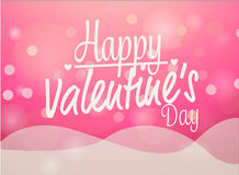 Valentines love card Stock Images