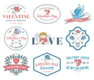 Valentines Love colored Stock Photo