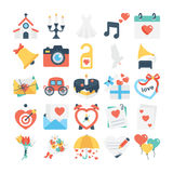 Valentines, Love, Romance, Marriage Vector Icons 1 Stock Photography