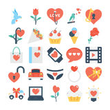 Valentines, Love, Romance, Marriage Vector Icons 3 Stock Photography