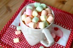 Valentines Marshmallows Royalty Free Stock Photos