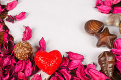Valentines message background Royalty Free Stock Images