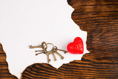 Valentines message royalty free stock image