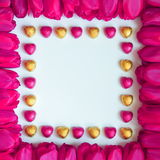 Valentines or Mothers Day Frame - Stock Photos Stock Photos
