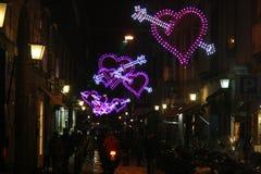 Valentines naples Royalty Free Stock Photos