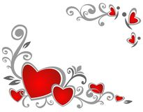 Valentines pattern Stock Photo